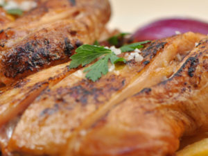 Filet poulet taboulé Un chef au bureau